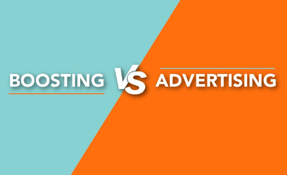Facebook Boosting vs. Facebook Advertising, What's the Difference?